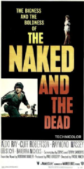 The Naked and the Dead 1958 DVD - Aldo Ray / Cliff Robertson